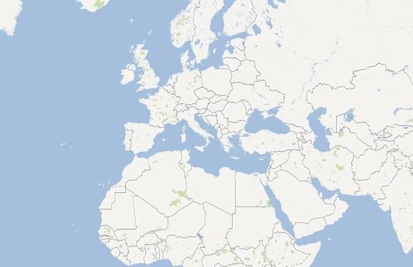 Map No Labels