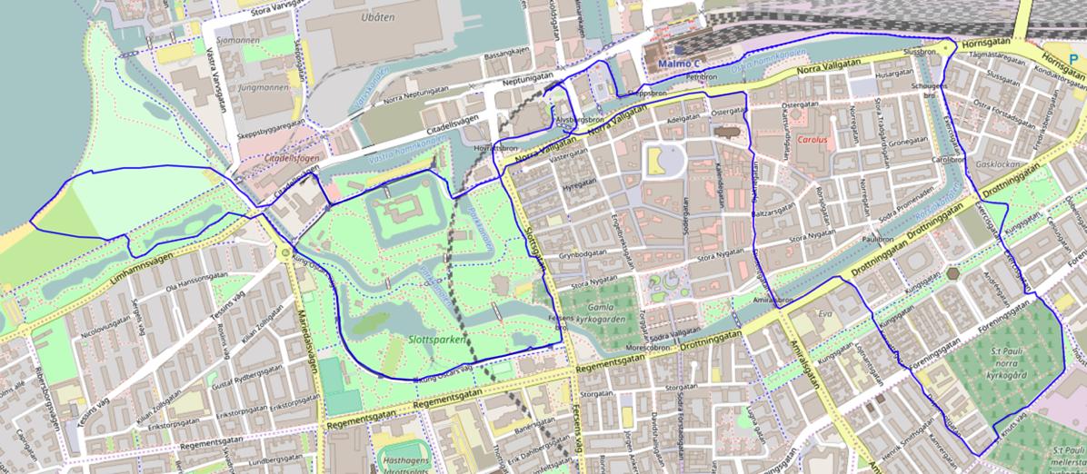 Leaflet: Mapping Strava runs/polylines on Open Street Map · Mark Needham