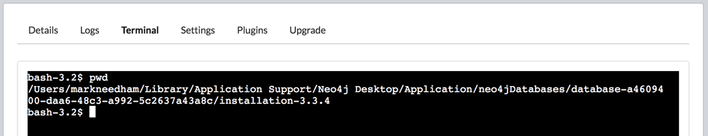 Neo4j: Using the Neo4j Import Tool with the Neo4j Desktop