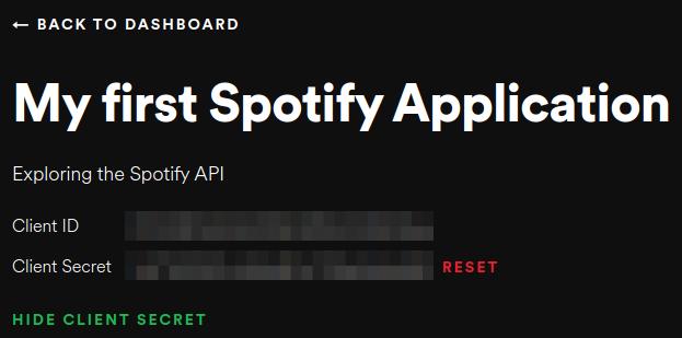 spotify show secret