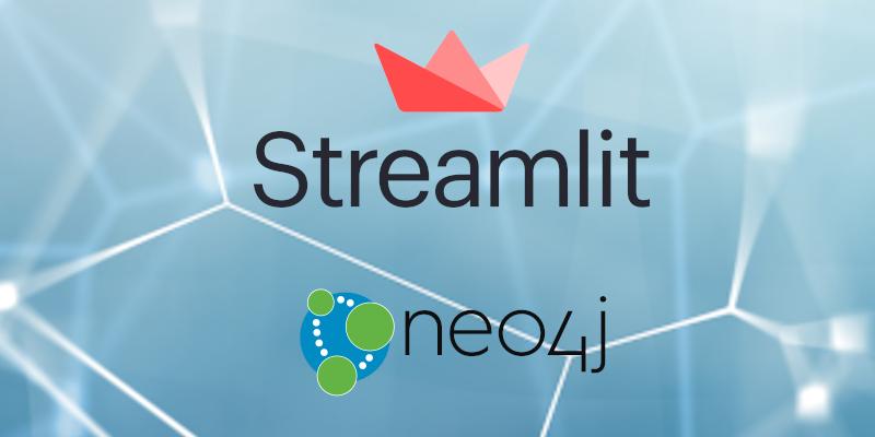 streamlit neo4j banner