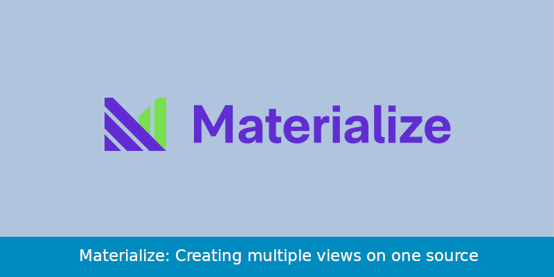 materialize multi views banner